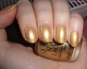 OPI - Curry Up Don't Be Late