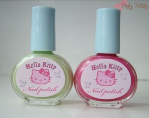 H&M Hello Kitty Nailpolish Haul