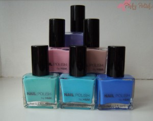 H&M Nailpolish Haul