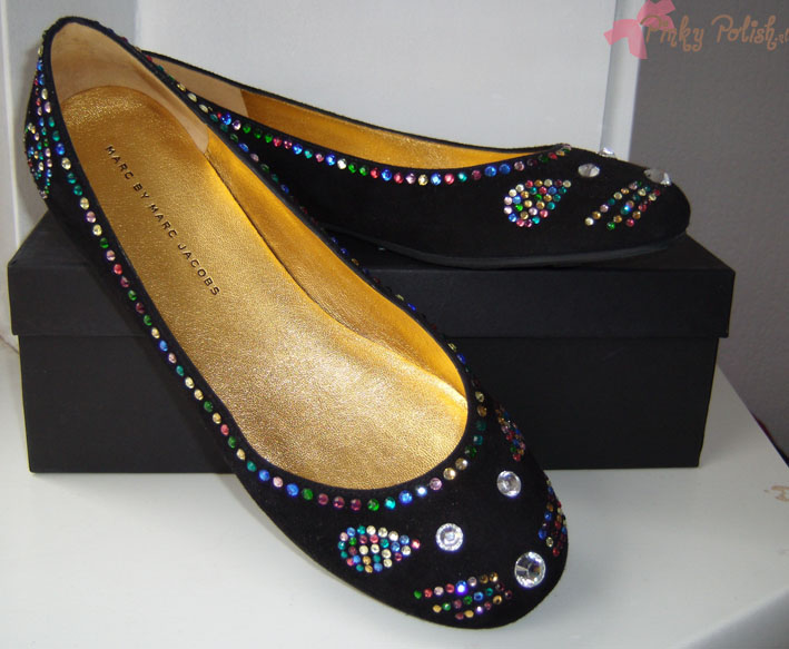 Marc Jacobs Disco Mouse Flats