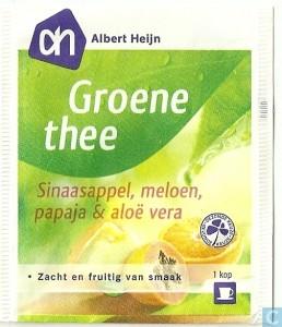 AH Groene Thee Sinasappel, Papaya, Meloen en Aloë Vera