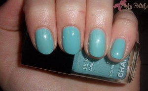 Chanel Nouvelle Vague vs. China Glaze For Audrey