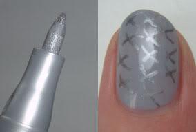 Essence Nail Art Pen - 03: Silver Star