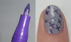 Essence Nail Art Pen - 05: Deep Purple
