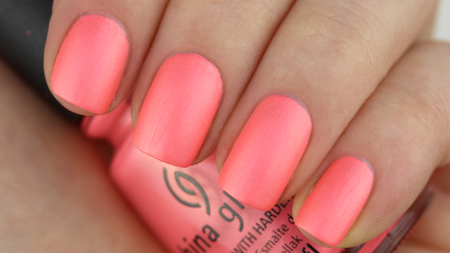 China Glaze - Flirty Tankini 1