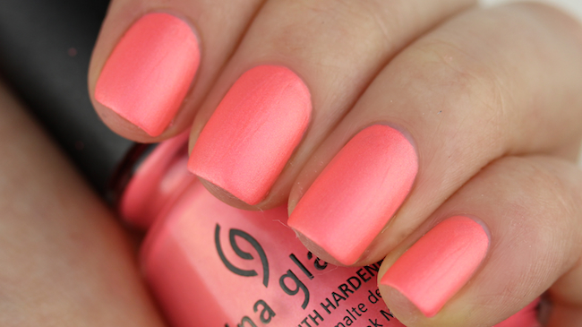 China Glaze - Flirty Tankini 2