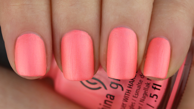 China Glaze - Flirty Tankini 4