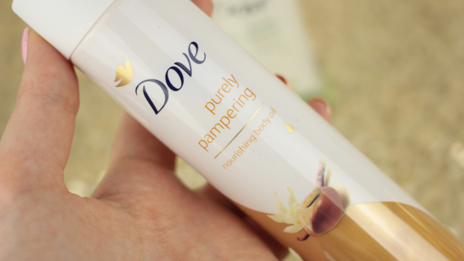 Dove Purely Pampering Nourishing Body Oils - 7