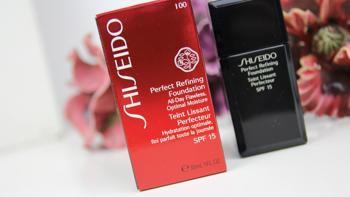 Shiseido Perfect Refining Foundation - 02