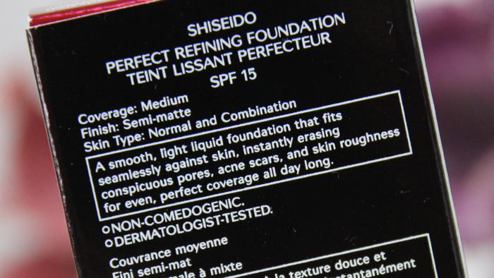 Shiseido Perfect Refining Foundation - 04