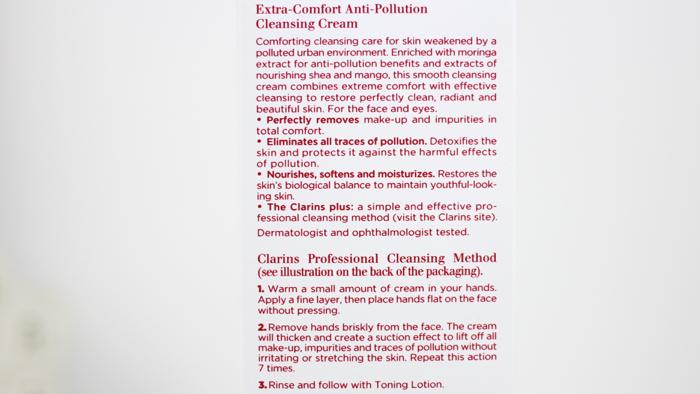 Clarins Comfort Cleansing Cream - 3