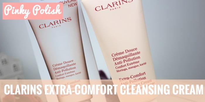 THUMB clarins cleansing cream