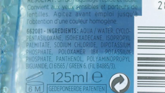 L'Oréal Oog- en Lip Reinigingslotion Waterproof 001
