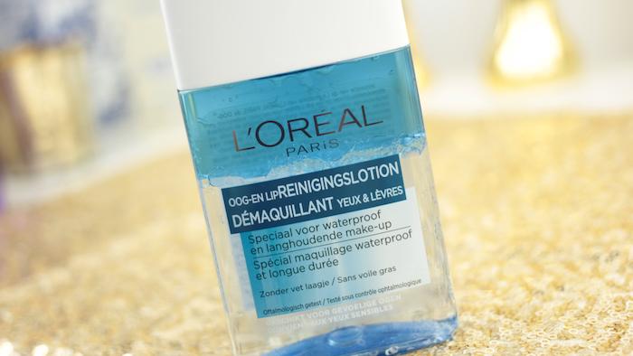 L'Oréal Oog- en Lip Reinigingslotion Waterproof 002