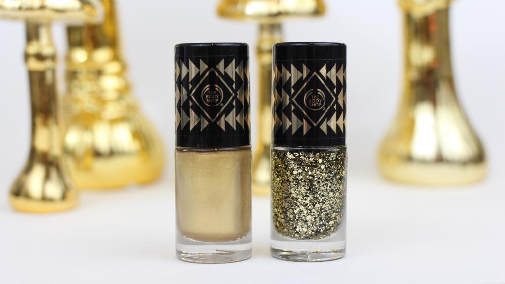 The Body Shop Gold Metal + Gold Sequins - 1 van 7