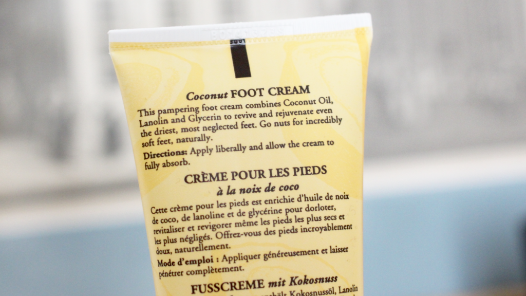Burt's Bees Coconut Foot Cream - 3 van 5