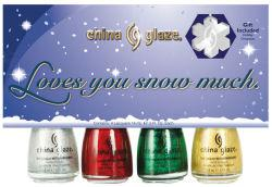 China Glaze Christmas 2009