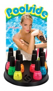 China Glaze - Poolside Collection Display
