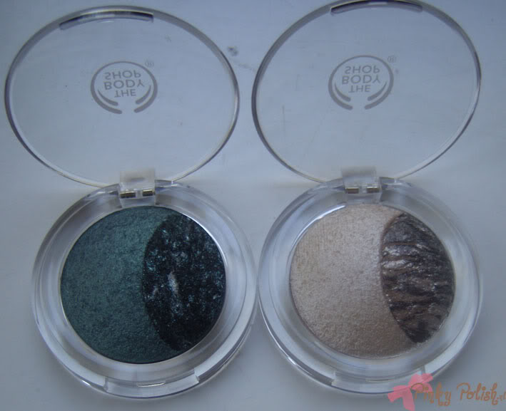 TBS Baked-To-Last Eye Colours 02: Moonstone & 03: Jade