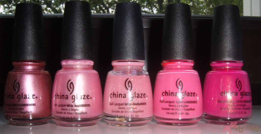 China Glaze Stash Deel 1
