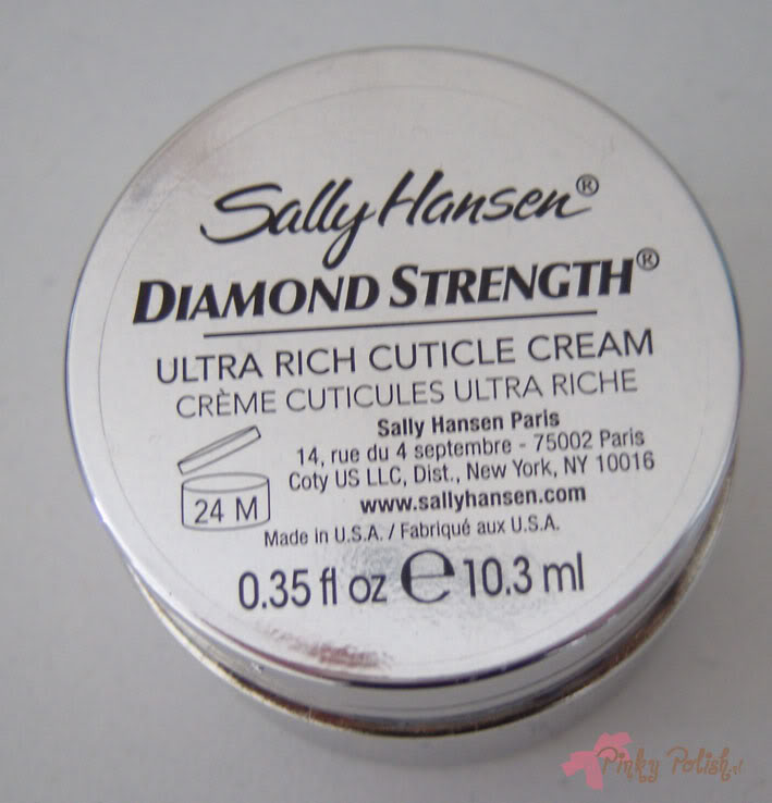 Sally Hansen Diamond Strength Ultra Rich Cuticle Cream