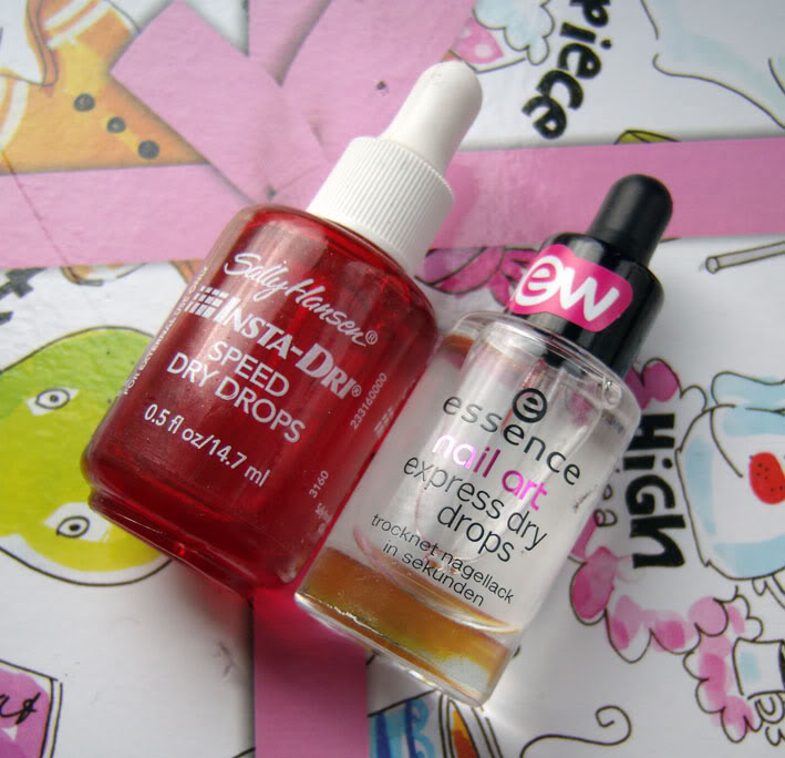 Review Essence Express Dry Drops Pinky Polish Beautyblog