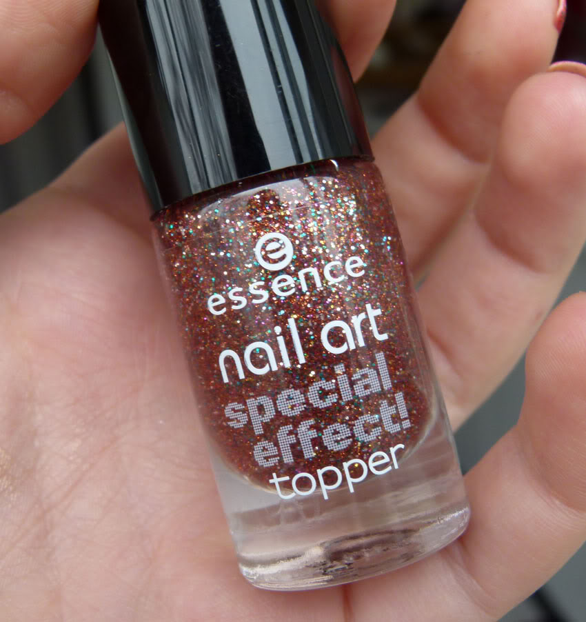 Tip Essence Nail Art Special Effect Topper Copperize Me Pinky