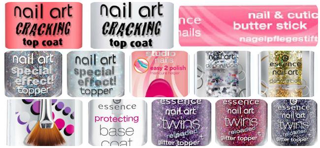 Essence Nail Art Assortiments Update Lentezomer 2013 Pinky Polish