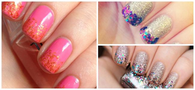 Nail Art Tip Glittertips Pinky Polish Beautyblog