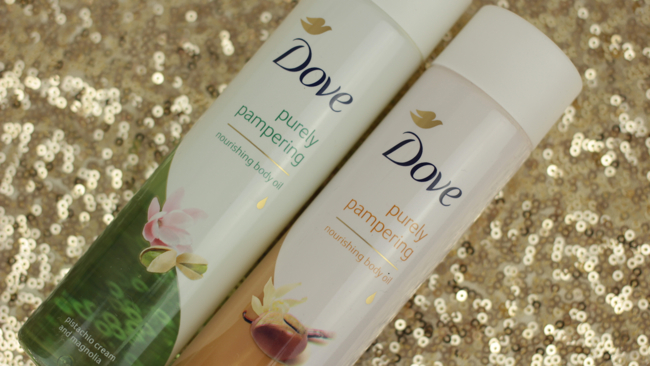 Dove Purely Pampering Nourishing Body Oils - 1