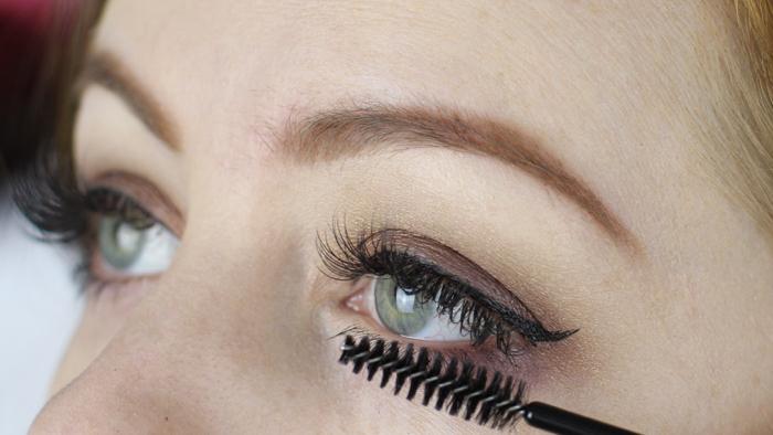 Wimpers en makeup - 3