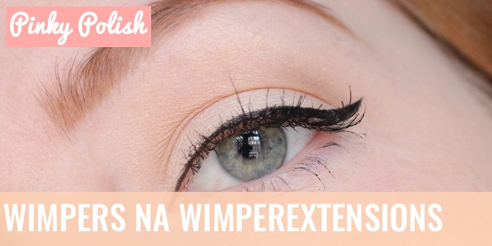 Wonderlijk Wimpers na wimperextensions - Pinky Polish - Beautyblog HR-24