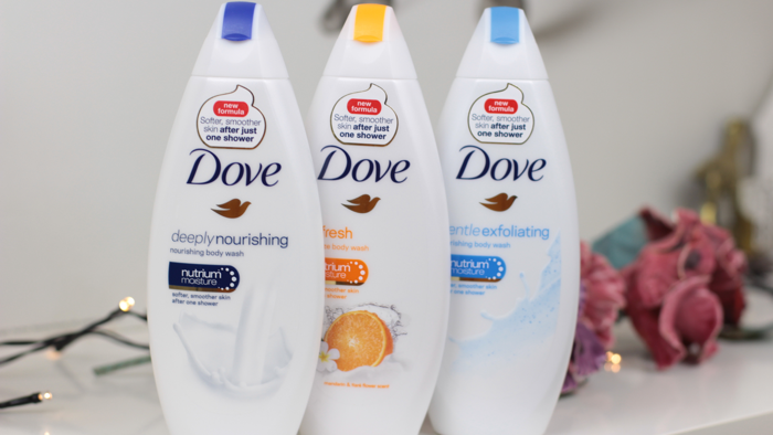 Dove douchegels - 1