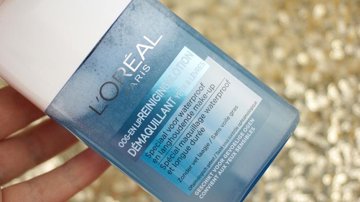 L'Oréal Oog- en Lip Reinigingslotion Waterproof 003