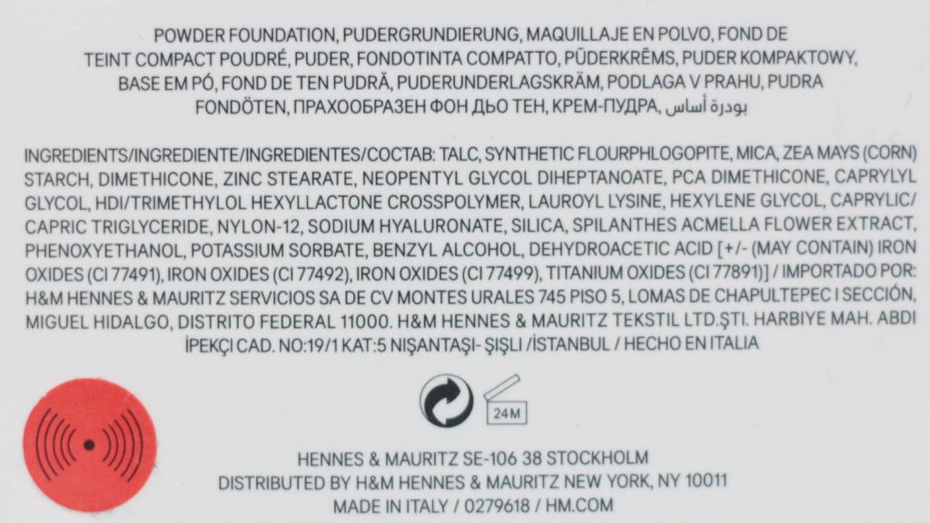 H&M Foundation, Powder Foundation & Concealer - 7 van 13