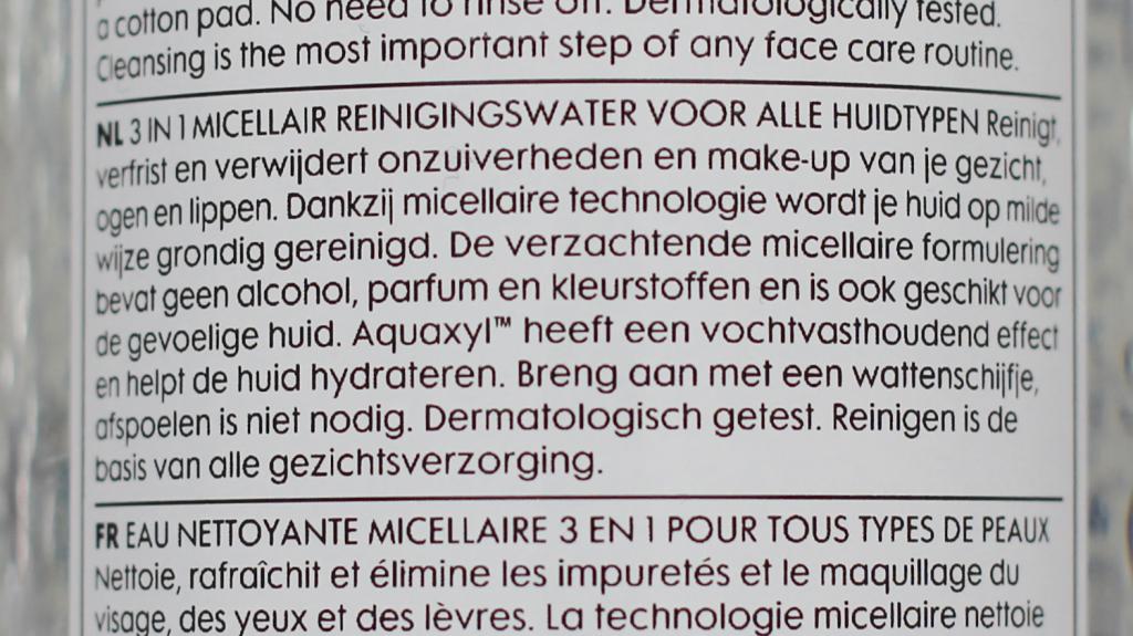 Hema 3 in 1 Micellar Cleansing Water - 5 van 5