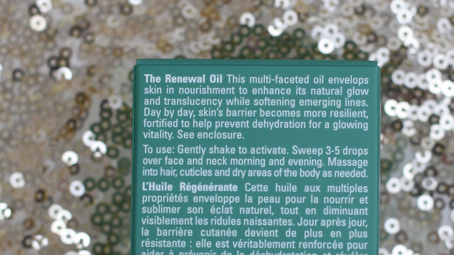 La Mer The Renewal Oil description