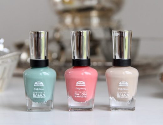 Sally Hansen Streetstyle collection Complete Salon Manicure review
