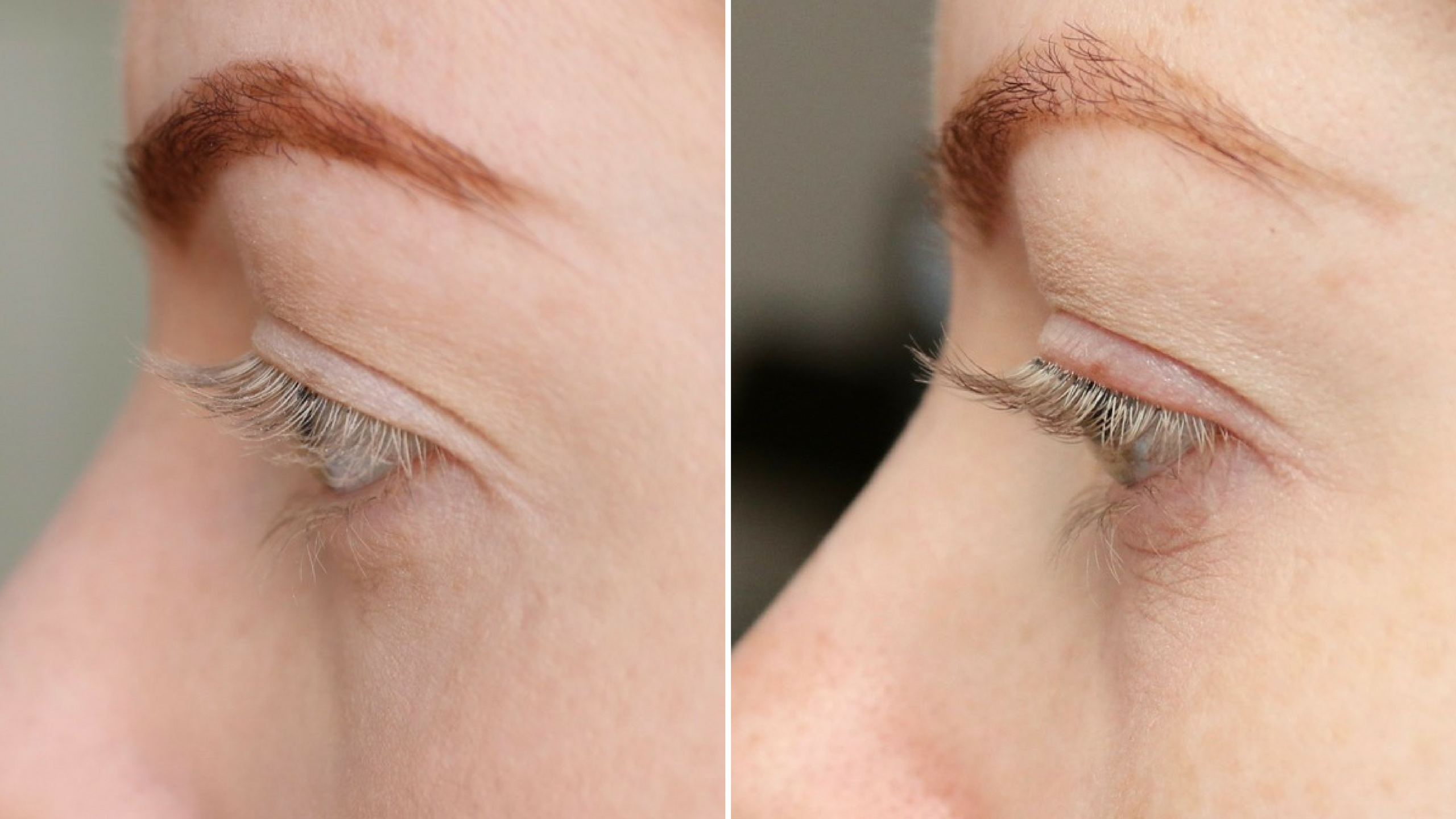 Kruidvat wimperserum before and after
